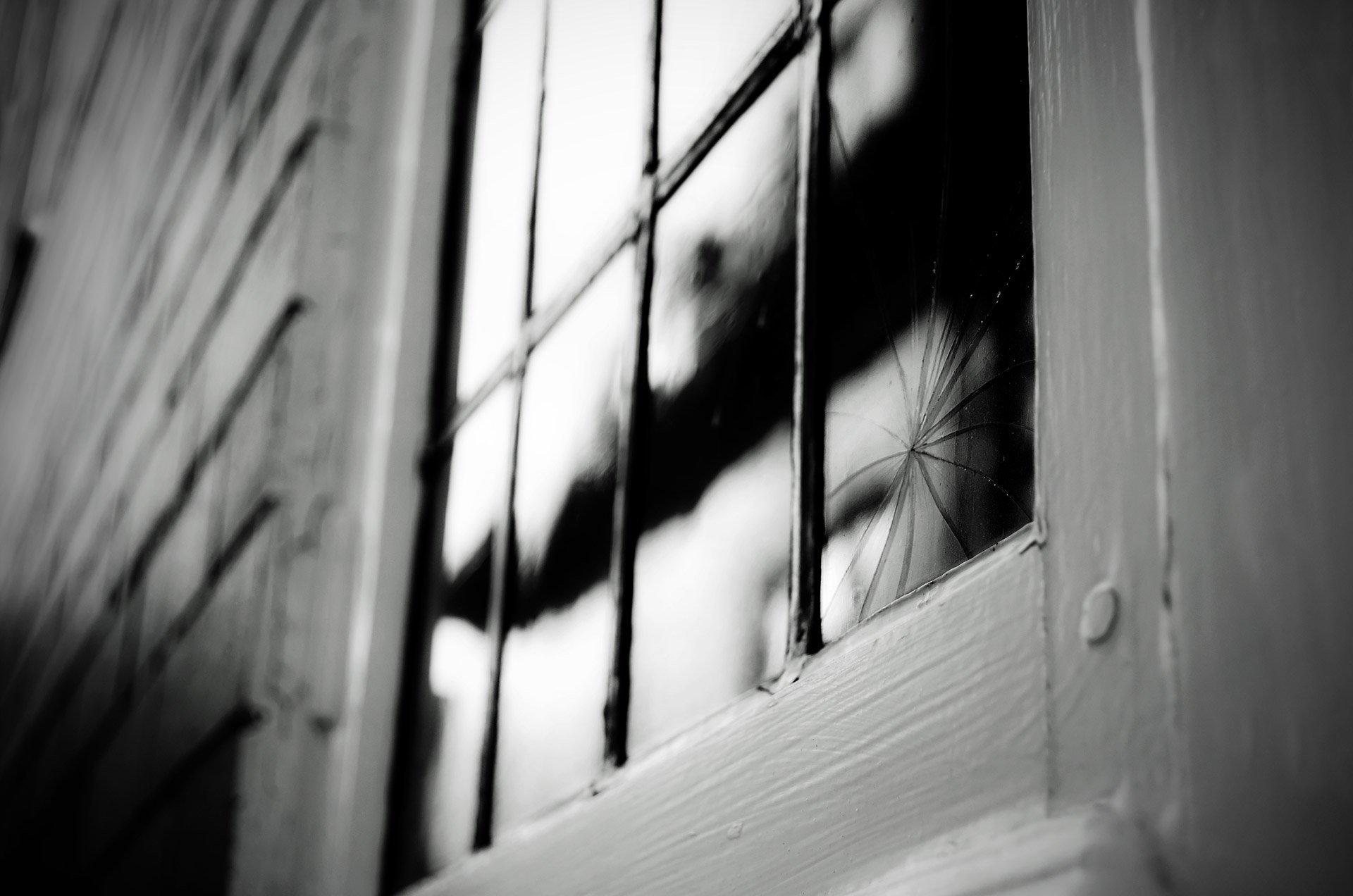 rotura vidrio ventana