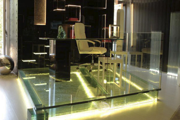 Vidrio en residencias Madrid
