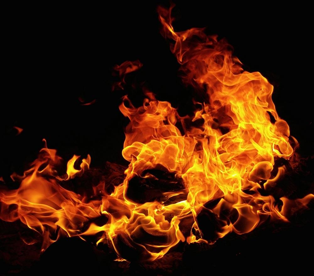 Vidrio resistente al fuego